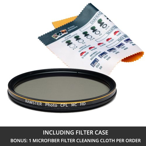 RAWSTER Photo Polarizing Filter • Multi-coated • Slim Frame