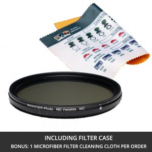 RAWSTER Photo ND Variable Filter • Multi-coated • Slim Frame