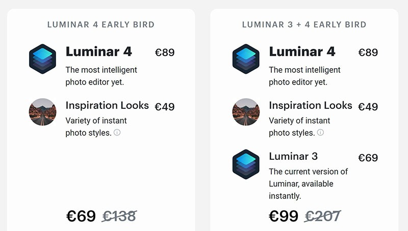 Luminar 4 - Discount Coupon for Pre-sale