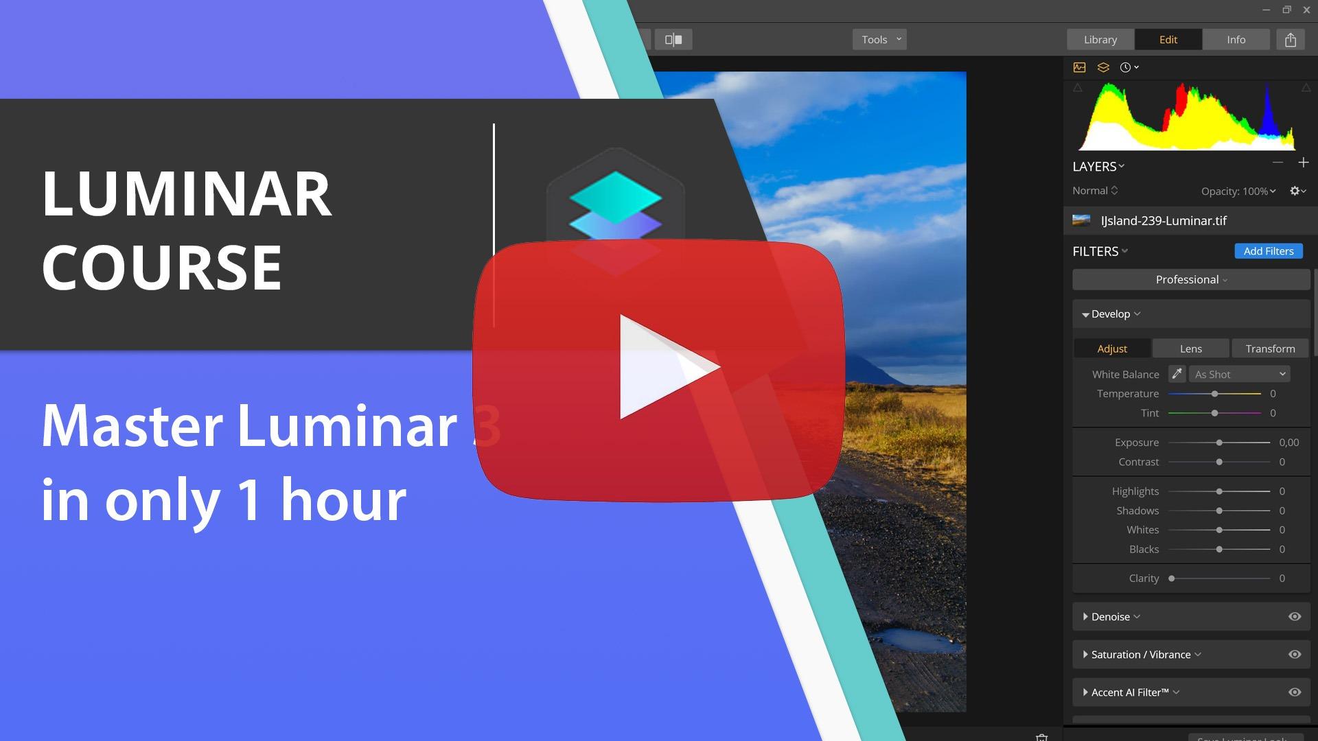 Free Luminar 3 Course